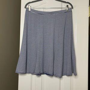 MAX STUDIO Elastic Waist A-Line Skirt XL Size